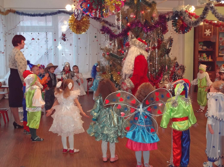 Детские сады на новый год